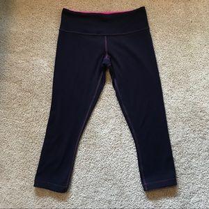 Lululemon Wunder Under Crop *Reversible* pants